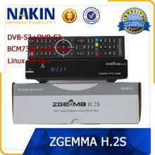 Original Zgemma 2s with twin tuner DVB-S2 youtube chinese movie satellite receiver free box