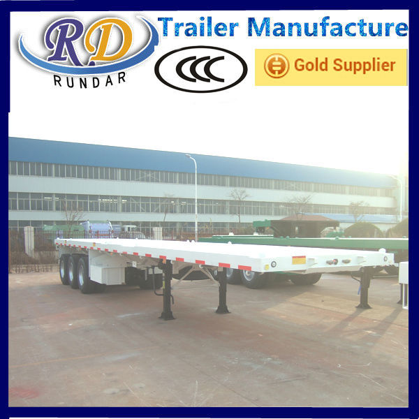 New Cheapest flatbed shipping container trailer
