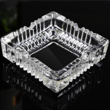 Cheap Beautiful Crystal Glass Ashtray