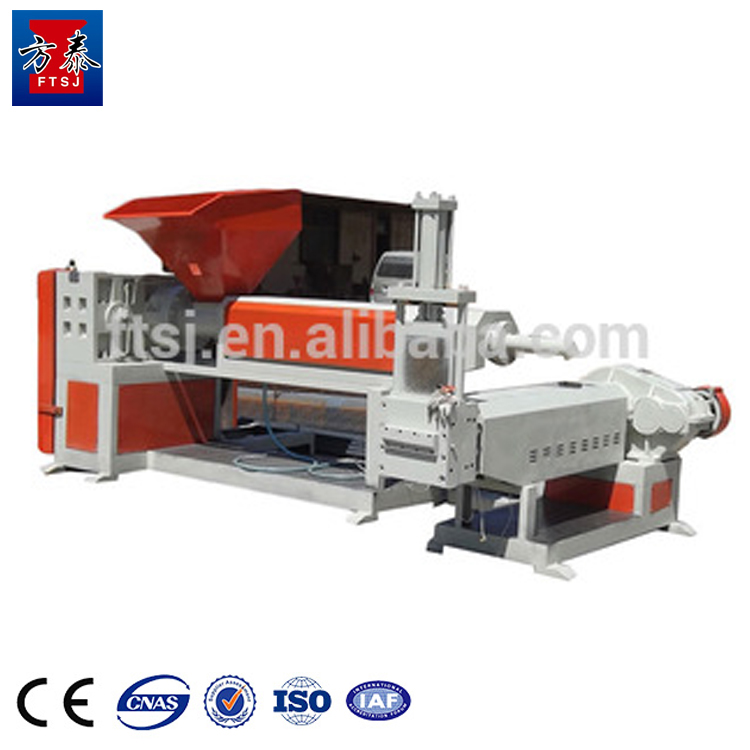 Good quality waste PE PP full automatic recycling plastic granulating machine