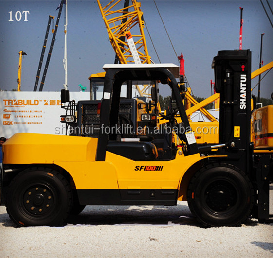 China used heavy duty fork lift truck 10Ton sale for UK