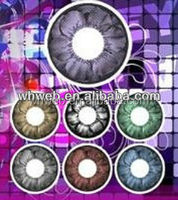 Colorful Eye Cosmetic Rainbow Contact Lenses