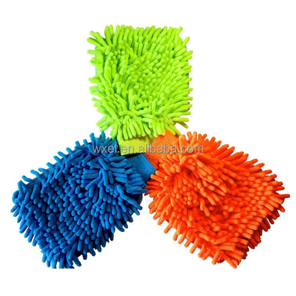 High Quality Cleaning Cloth Microfiber Mitt