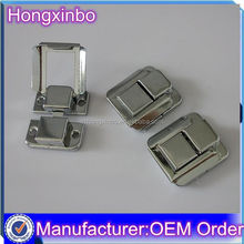 Hongxinbo manufacturer bulk metal wooden box clasp for jewelry