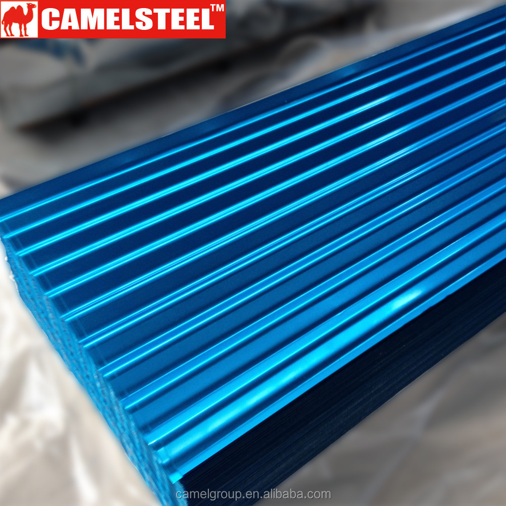 iron and steel company galvanized corrugated color steel roofing price list philippines