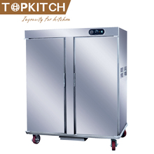 Convection Hot Air Evan heating Stainless Steel AISI 304 Banquet Food Trolley