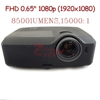 300inch screen Brightest 8500 Lumen Business Advertising Education data show 3D Full HD DLP Projector Beamer Projektor Proyector