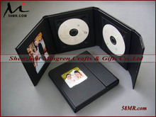 Supreme Deluxe Classic Wedding Leather CD DVD Holder