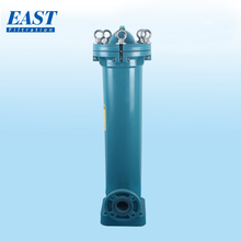 EAST brand flange connection 2# seamless big blue pvc plastic bag filter housing for water filter