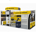 Detian offer factory direct sale Exhibition Stand 3D Models Exhibition Display Stand trade show display Of Higih Quality