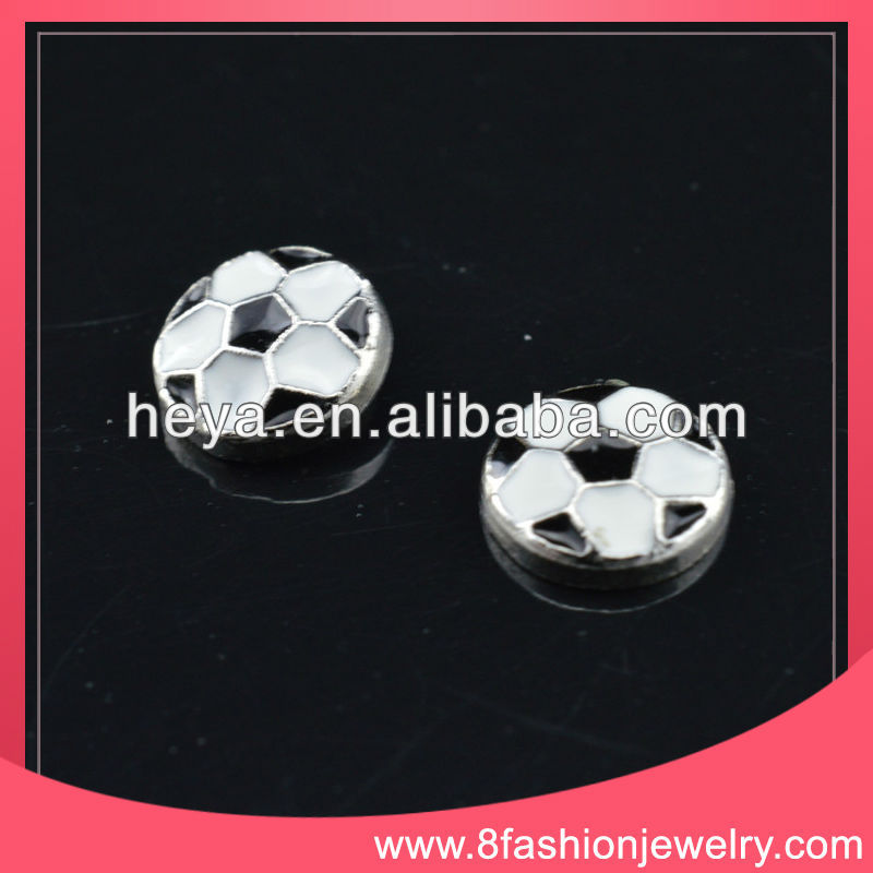 2014 Floating locket charms soccer charms wholesale