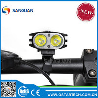 SG-K21 2000lumens powerful headlight for dirt bike led light bicycle
