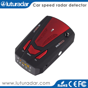 Car Radar Detector K Ka Band V7 With English / Russian Voice Alert for Vehicle Speed Limited