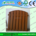 New!Hot sale! Lvsen WPC garden fencing like real wood