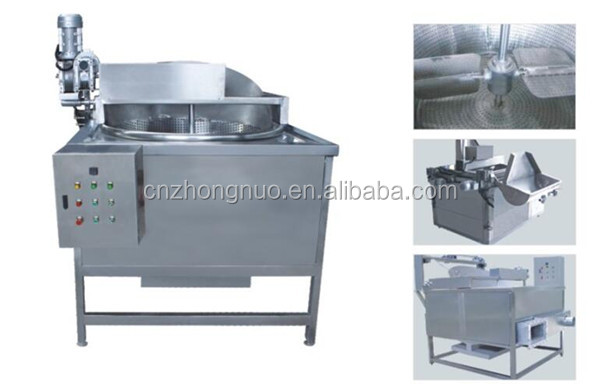 Electric heating full automatic oil-water mixture fryer