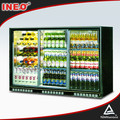 Three Glass Door Bar Beer Refrigerator/Table Top Refrigerators