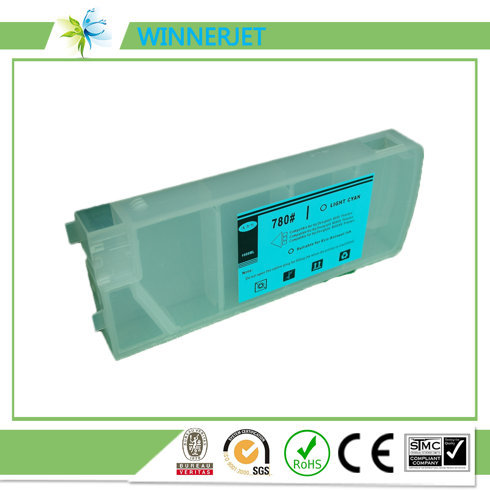 high quality refill ink cartridge for hp designjet 8000s 8000sf 8000sr for hp 780