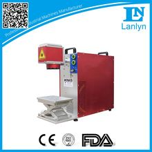 metal and non-metal fiber laser marker, metal key laser engraving machine