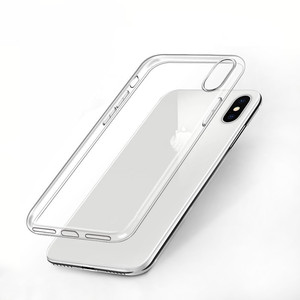 Best selling transparent silicon soft TPU protective case for iphone 7 7Plus 8 8Plus X XS MAX XR transparent phone case