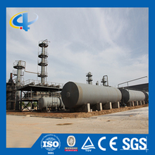 Continuous Type double control system domestic waste oil distillation plant