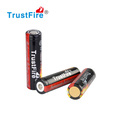 TrustFire battery cell 2400mAh TrustFire 18650 nipple lithium rechargeable battery 3.7v protected battery with CE certification