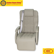 Electric adjustable modified vehicle seat with footrest for Bus JYJX-003-A