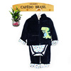 hooded baby boy winter sets thick coral fleece Under 6 years 3 sets