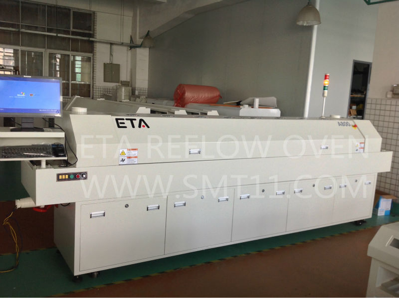 ETA factory SMD/SMT automatic smt soldering machine reflow oven A600 for LED strip light