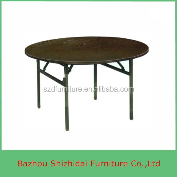 Wholesale 6ft Folding Round Plywood Banquet Table SDB 45 2