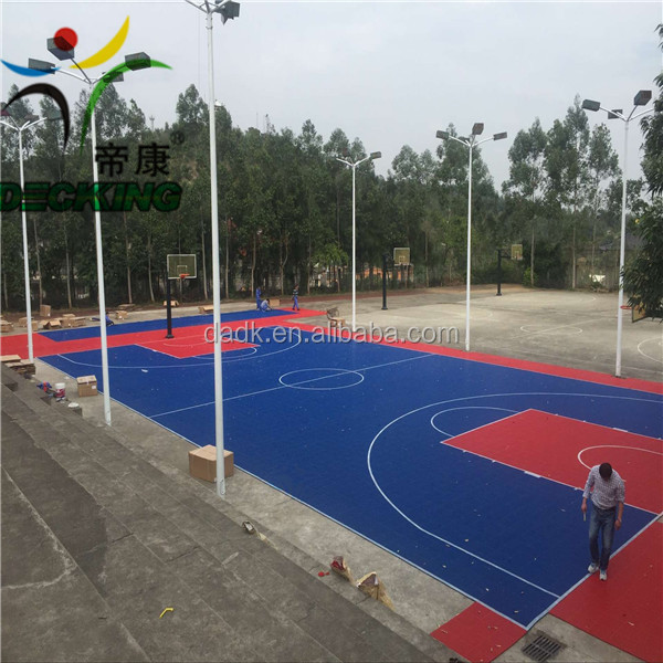 hot sales PP synthetic basketball court flooring