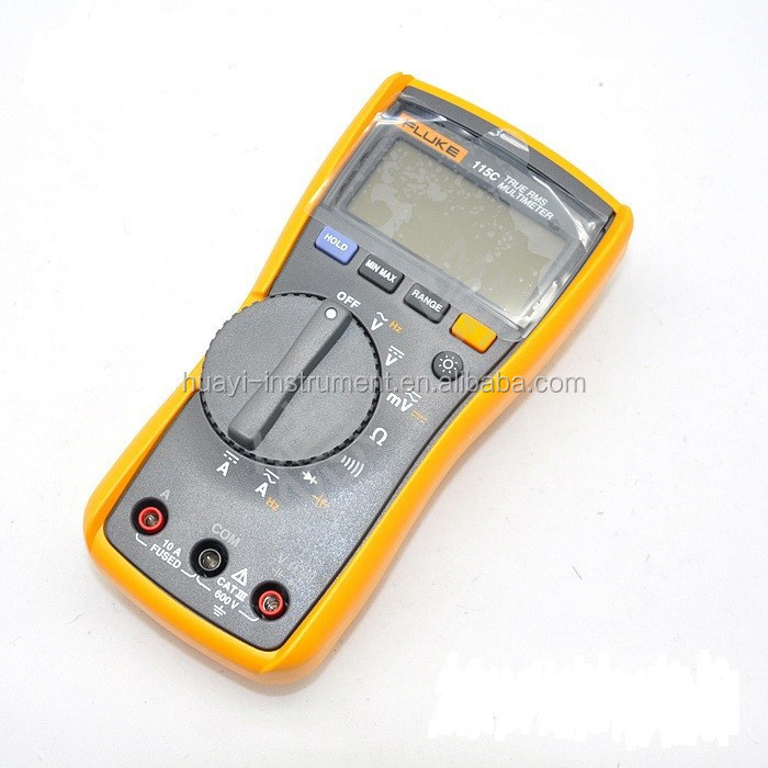 Fluke 115 digtal multimeter ,F115 true RMS digital multimeter ,Cheap Fluke 115 portable digital multimeter
