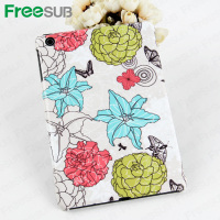 Wholesale customed blank 2D 3D sublimation bulk cell phone case for Apple Ipad mini