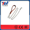 Dog chain with knotted design zinc plating