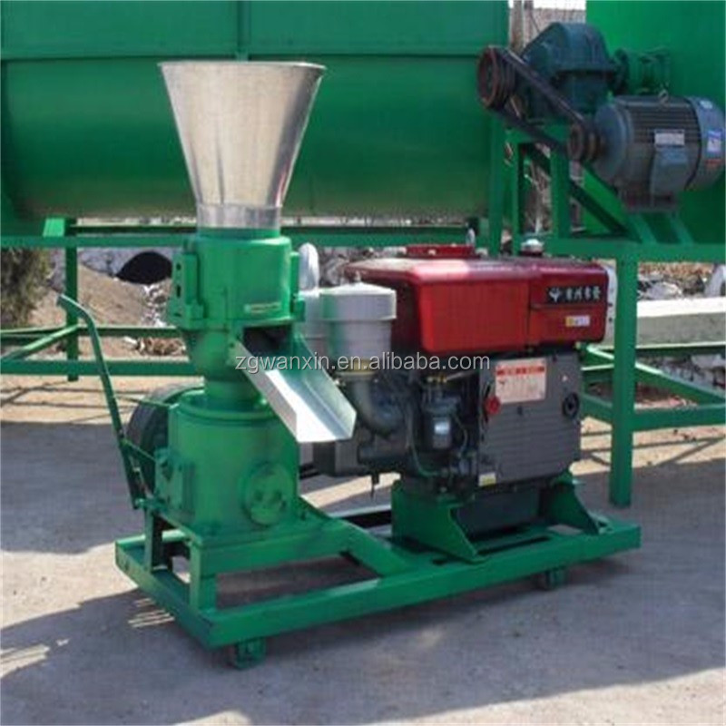 Rabbit catfish cattle catfish chicken poultry feed pellet machine