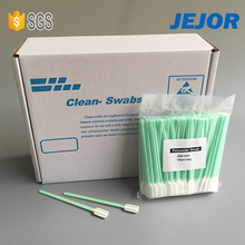 Rectangle Polyester Head Tip Esd Swabs for PCB IC Electronic
