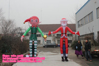 inflatable moving cartoon , inflatable costume for advertising C-139