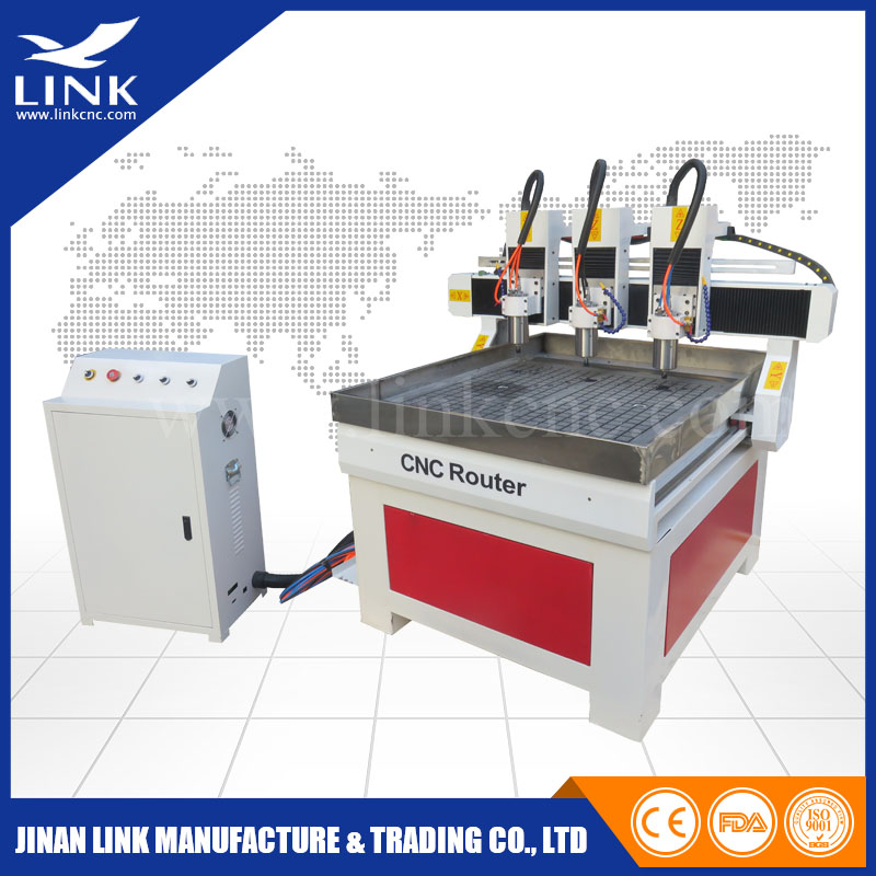 Full Automatic CNC router cutter with cutting center