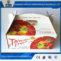 Factory made custom dry fruit gift packaging box