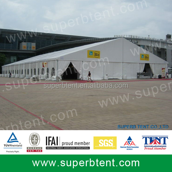 Temporary Tent Structure Building Large Construction Tent