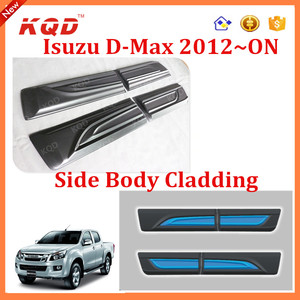 Hot Sale Side Body Cladding For D-Max 4WD Pickup Body Cladding Protector ABS Body Cladding Of Pick Up