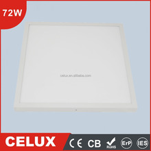 CB CE passed 72W surface mounted led ceiling shower light 60x60