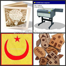 Acrylic wood paper 4030 mini laser cutting and engraving machine/4030 laser machinery