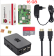 New Original UK Raspberry Pi 3 Model B+ Kit + 3A Power Adapter + Cable + Heat Sink RPI 3 B Plus