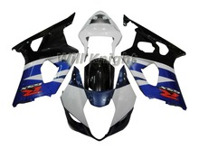 Body Kit Fairing for Suzuki GSXR1000 K3 2003 2004 Fairing Kit Black