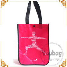 yellow shopping bag die cut pp non woven bag non woven bag