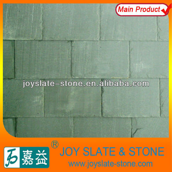 natural green coat stone tile roof