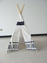 High Quality Customized Printing Teepee House For Pets, Dog Teepee Home Tent, Pet House Tee Pee House Tent