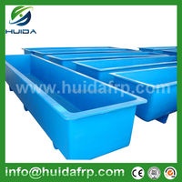 China Fiberglass fish stock farm preformed tanks
