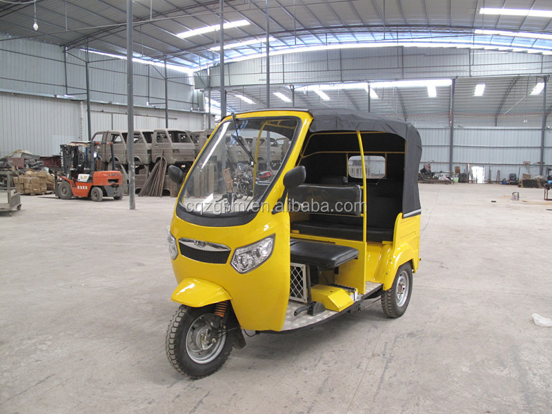 CNG passenger three wheeler/bajaj 3 wheel motorcycle