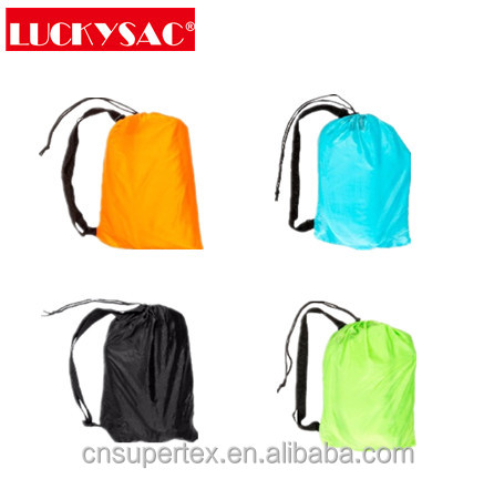 High Quality Outdoor Portable Light Weight Air Inflatable Sleeping Bag Air Sofa Bean Bag